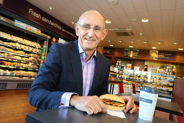 Greggs' CEO Roger Whiteside outlined the plans. Credit: PA