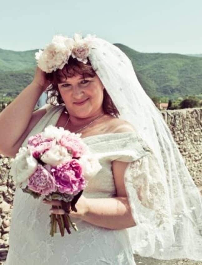 Jodi met her husband while travelling through France. Credit: WENN.com