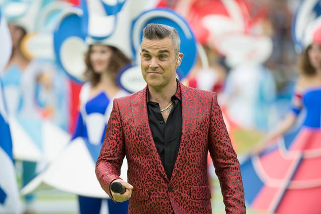Robbie hopes his Christmas album will 'annoy' fans. Credit: PA