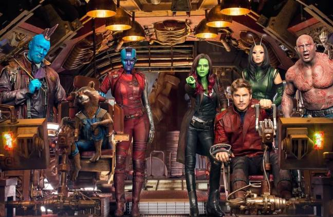 Bautista said the third instalment of Guardians of The Galaxy will start filming next year. Credit: Marvel
