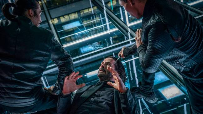 John Wick: Chapter 3 - Parabellum. Credit: Lionsgate