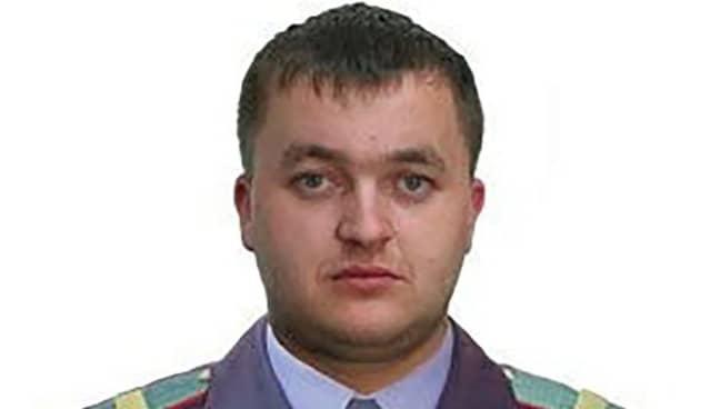 Vladimir Krutov when he was a police officer. Credit: East2West