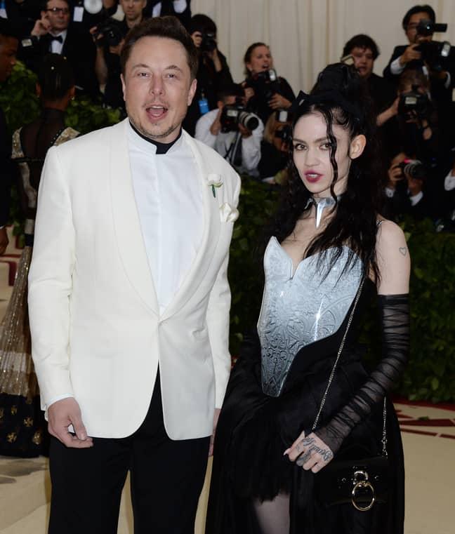 Elon Musk and Grimes. Credit: Shutterstock