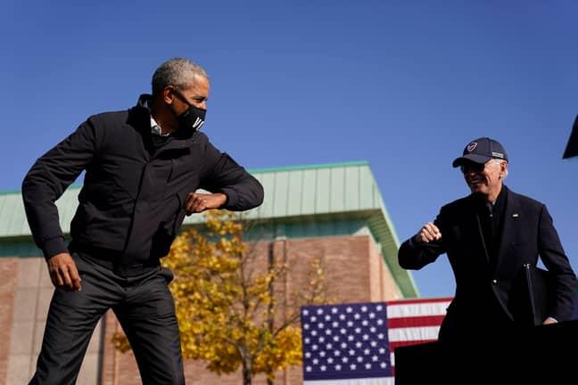 Obama and Biden. Credit: PA