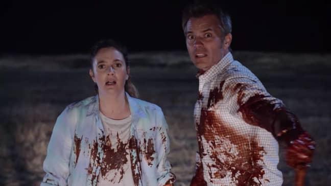 Joel and Sheila Hammond. Credit: Netflix