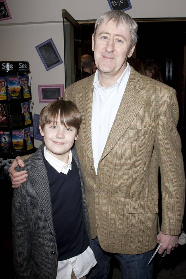 Archie with Nicholas back in 2011. Credit: Shutterstock