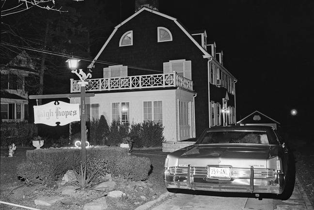 The house that DeFeo Jr. murdered his family in. Credit: PA