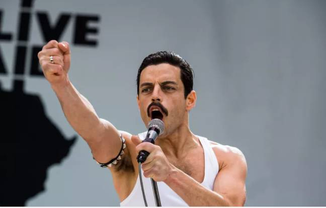 Rami Maleks Live Aid Performance In 'Bohemian Rhapsody' Is Scarily Precise Credit: PA/20th Century Fox