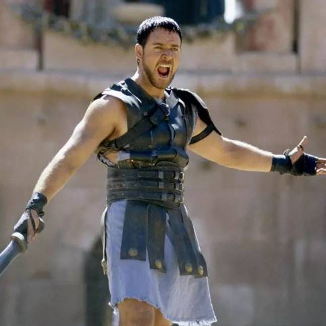 Crowe says he would be up for a Gladiator sequel. Credit: Universal Pictures