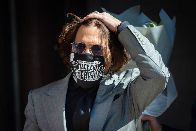 Depp lost the libel case. Credit: PA