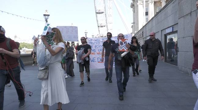Police Arrest Anti-Lockdown Protestors And Issue Coronavirus Penalties