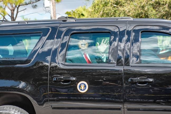 Trump boycotted Joe Biden's inauguration. Credit: PA