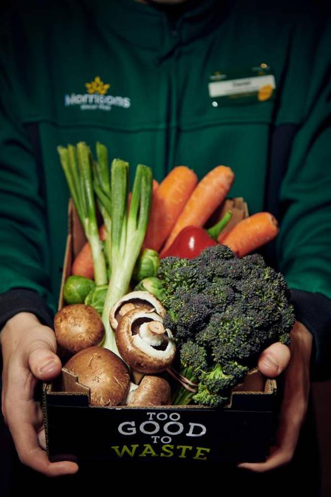 Who says healthy eating is too expensive? Credit: Morrisons