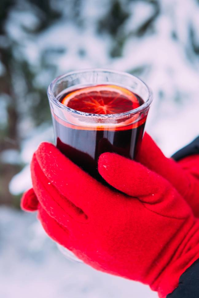 Never too early for a mulled wine either, right? Credit: PA