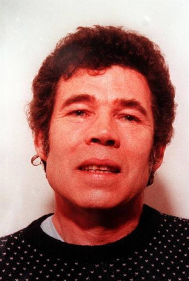 A police-issued photograph of Fred West after his wife Rosemary West had been imprisoned for life on ten counts of murder. Credit: PA