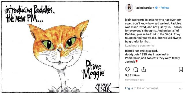 Credit: Jacinda Ardern/Instagram