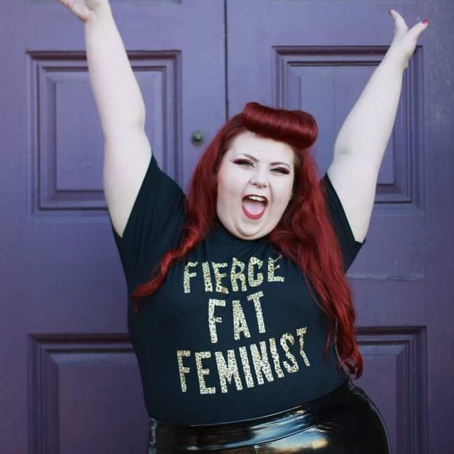 Activist Lindsay. Credit: Kennedy News and Media