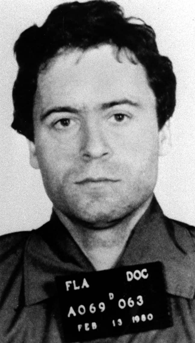 Ted Bundy's mugshot. Credit: PA