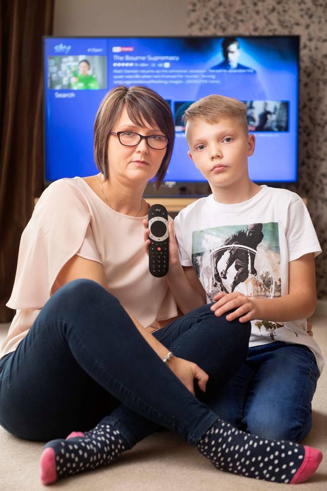 Mum Dawn Pearse said she was horrified after the adult movies appeared on the search. Credit: Adrian Sheratt / The Sun / News Licensing