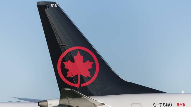 Air Canada has confirmed the woman's account. Credit: PA