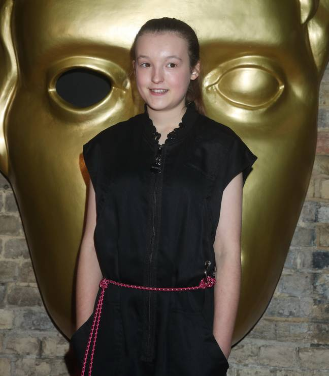 The actor said she will have to wait until she's 18 to catch up with the series. Credit: PA