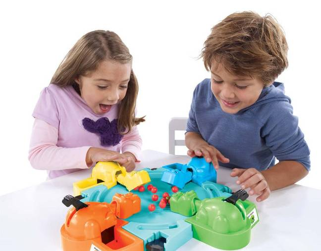 The hungry kitty was compared to classic kids' game Hungry Hungry Hippos. Credit: Smyths Toys