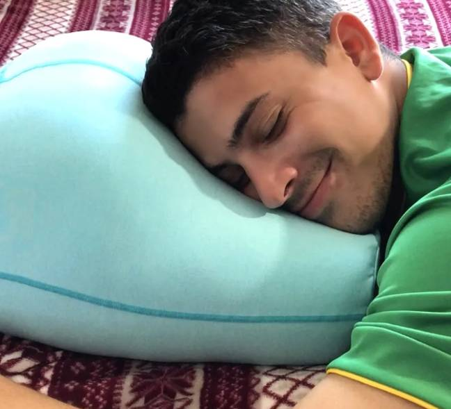 According to its creators the Buttress Pillow is perfect for caressers, slappers, and buriers. Credit: Buttress Pillow