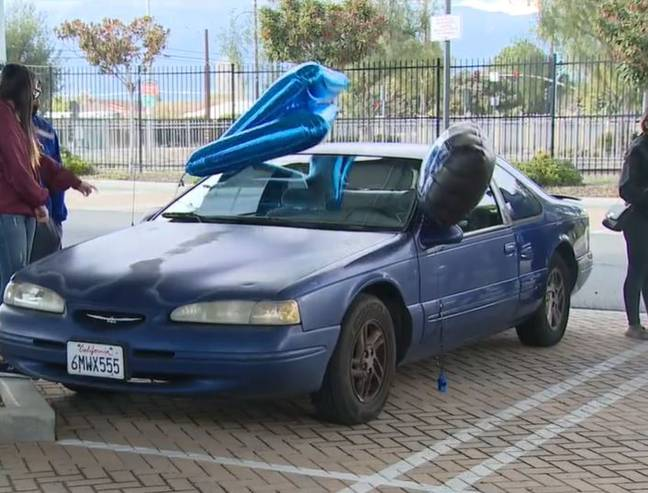 Mr Villarruel had been living in his car for the past year. Credit: Fox11