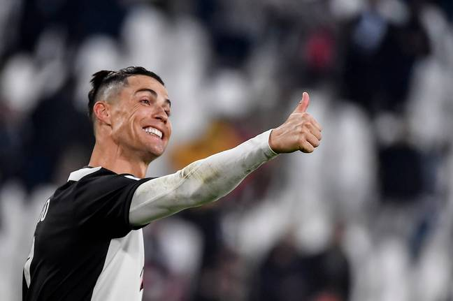 The Juventus footballer will only eat fresh fish. Credit: PA