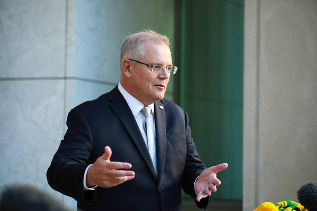 Scott Morrison Delivers Savage Message To Facebook After It Banned News In Australia