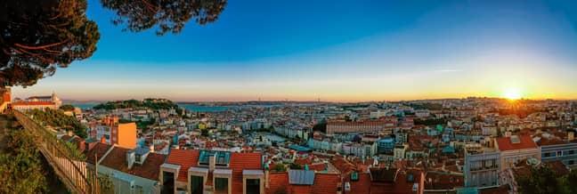 Lisbon. Credit: PA