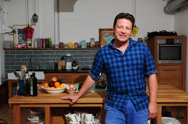 Jamie Oliver used to get shouted at by Liam as he came home from the pub. Credit: PA