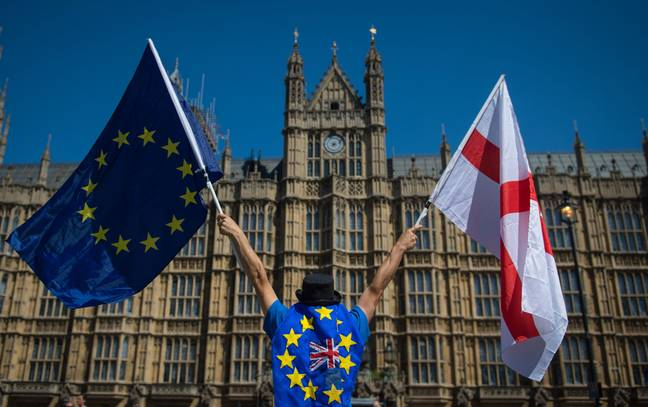 In the 2016 referendum, 48 percent of UK voters wanted to remain in the EU. Credit: PA