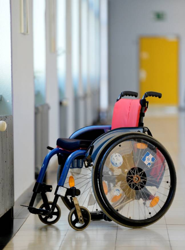 Stock image of a wheelchair. Credit: PA