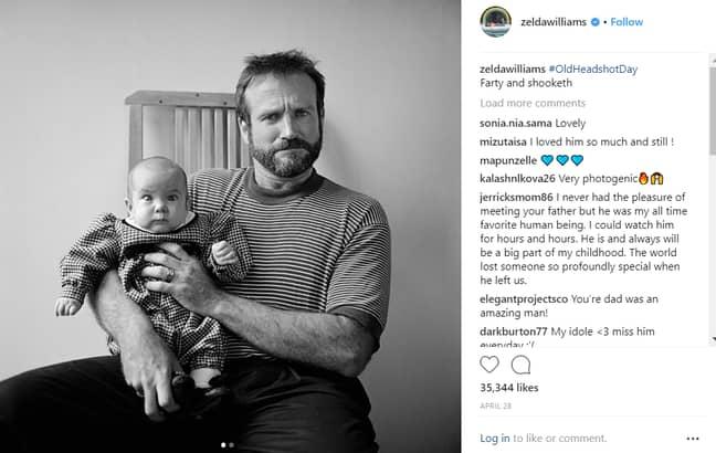 Credit: Instagram/Zelda Williams