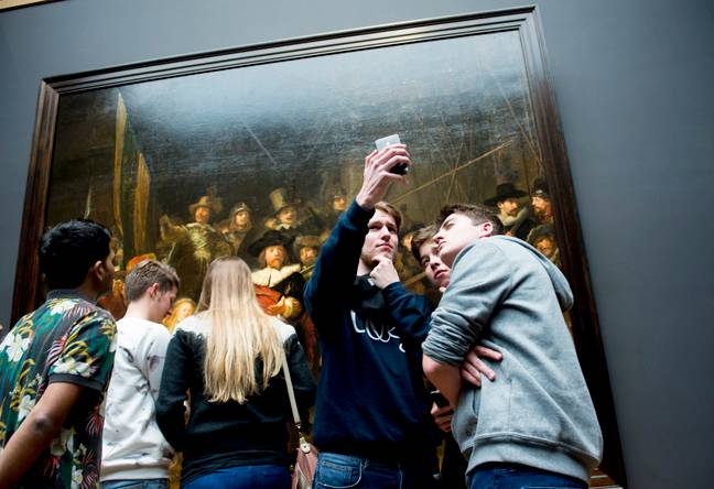 The Night Watch Gallery in Amsterdam was designed to showcase Rembrandt's work. Credit: PA