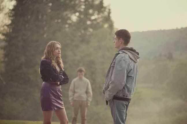 Aimee and Adam in Sex Educarion. Credit: Netflix