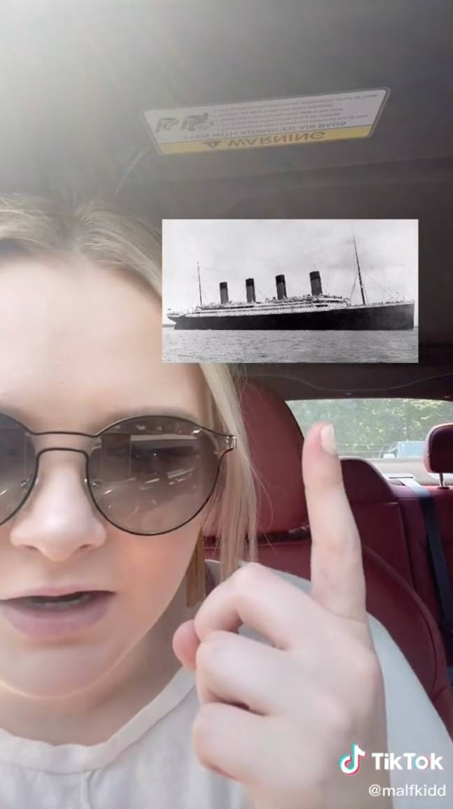 The Titanic Conspiracy Theory