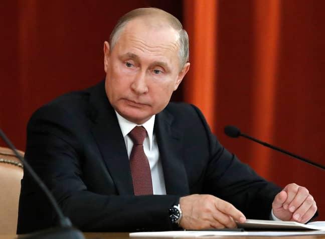 Vladimir Putin. Credit: PA