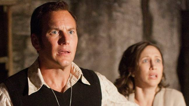 The events of The Conjuring were partly based on real life. Credit: New Line Cinema