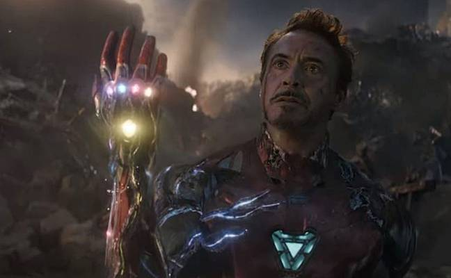 The scene occurred at the climax of 2019's Avengers: Endgame. Credit: Marvel