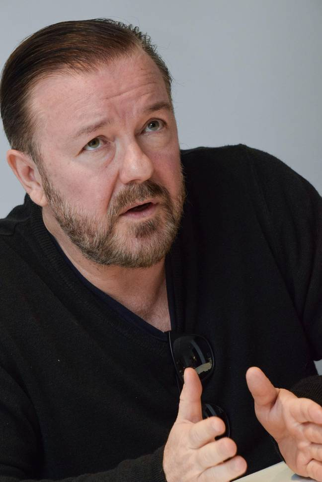 Ricky Gervais believes cancel culture is having a 'negative impact' on comedy. Credit: Alamy