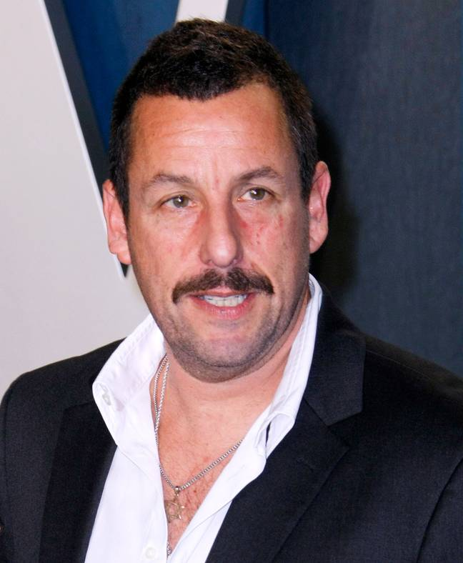 Sandler has obviously changed a bit during the lockdown. Credit: PA