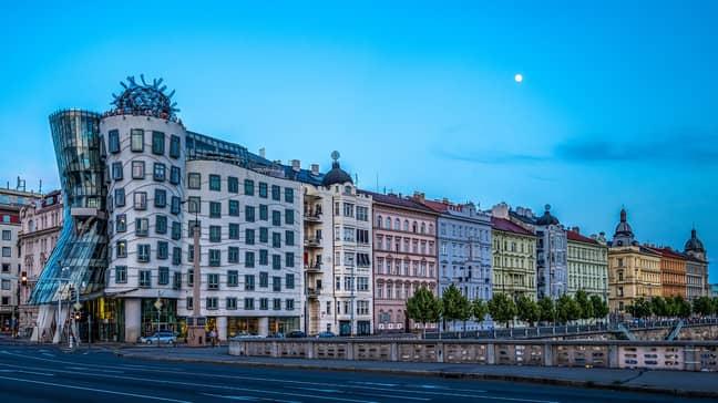 Prague's Dancing House. Credit: Pixabay