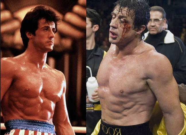 Workout sylvester stallone young Yahoo is