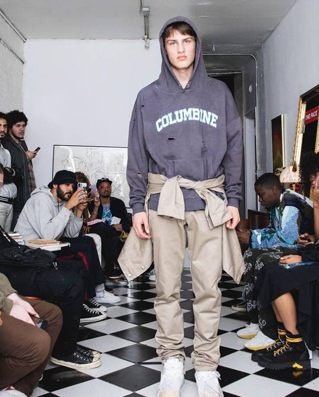The fashion label has faced a backlash over the hoodies. Credit: Instagram/brickowens