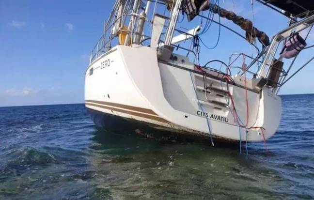Last year, Australian police discovered $1 billion of cocaine and ecstasy on a crashed boat. Credit: WA Police