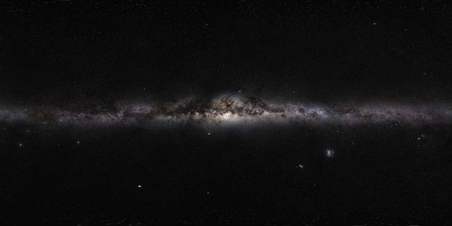 Each star in the Milky Way could have its own solar system. Credit: NASA