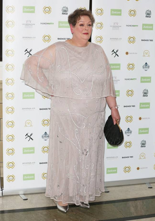 Anne Hegerty attends the National Film Awards 2019. Credit: PA