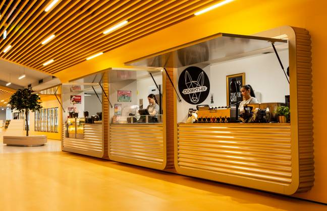The cinema has also introduced some new food stalls. Credit: Pathé Schweiz
